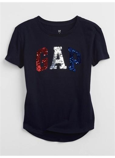 Gap Gap Logo T-Shirt Lacivert